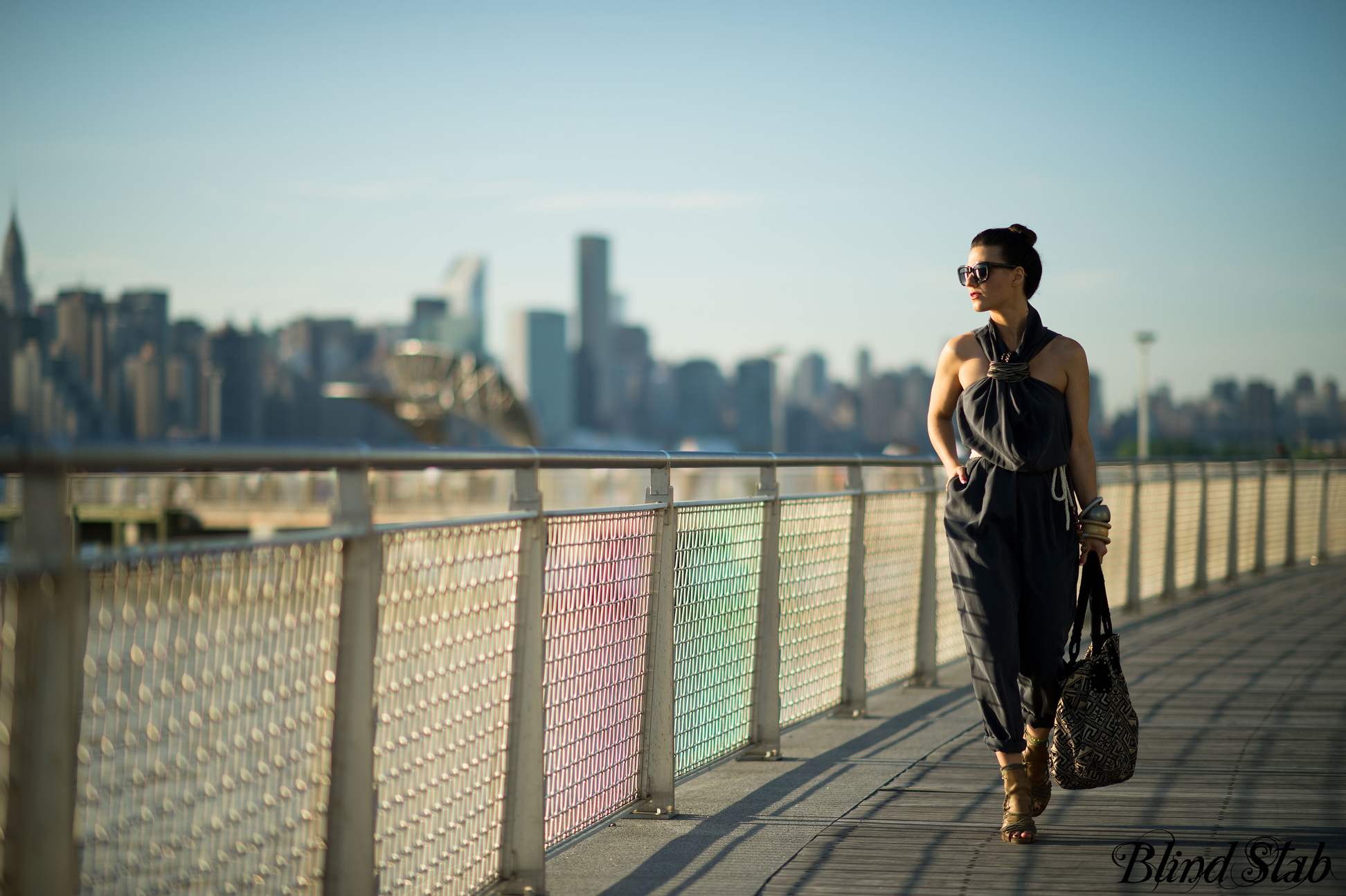 Wood-Wood-Jumpsuit-Bun-Streetstyle-NYC