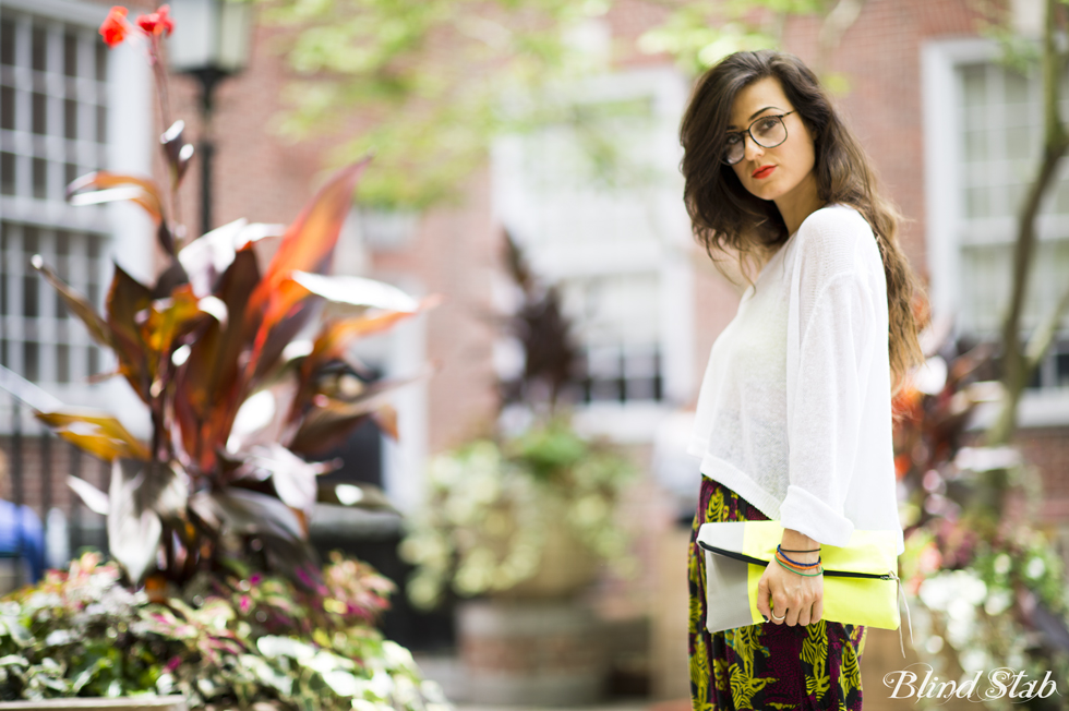 Neon-Blogger-Acne-Sweater-Pattern-Pants