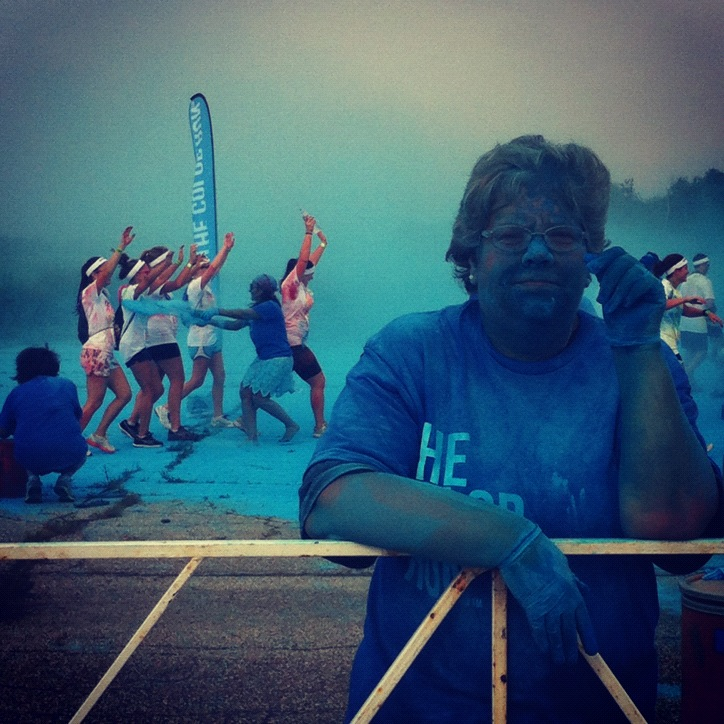 2012-NYC-Blue-Paint-Race