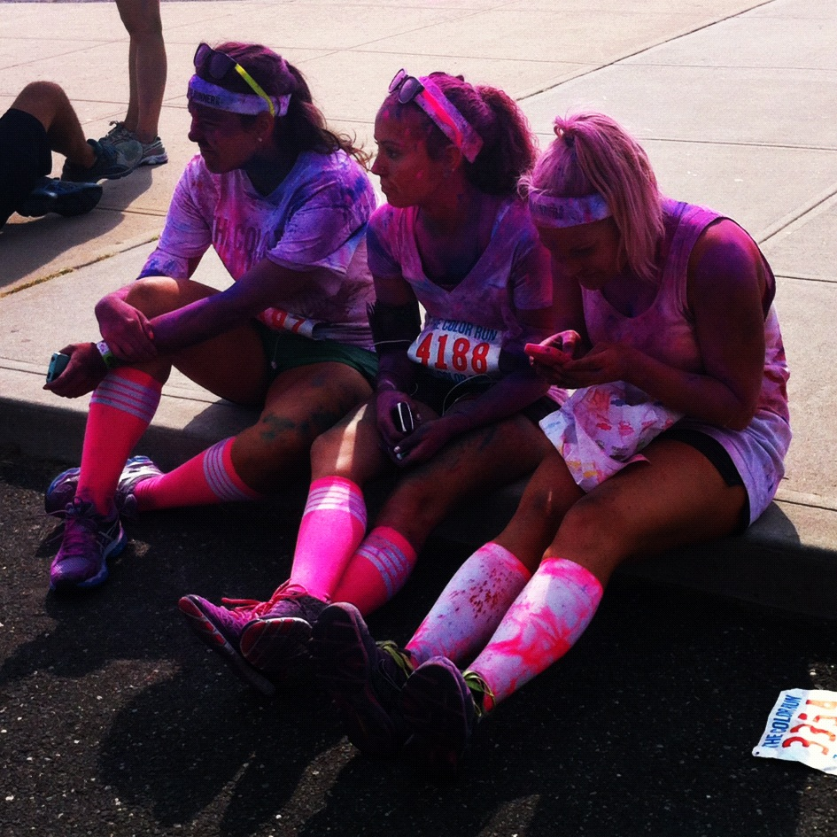 Girls-Painted-Pink-Race-2012