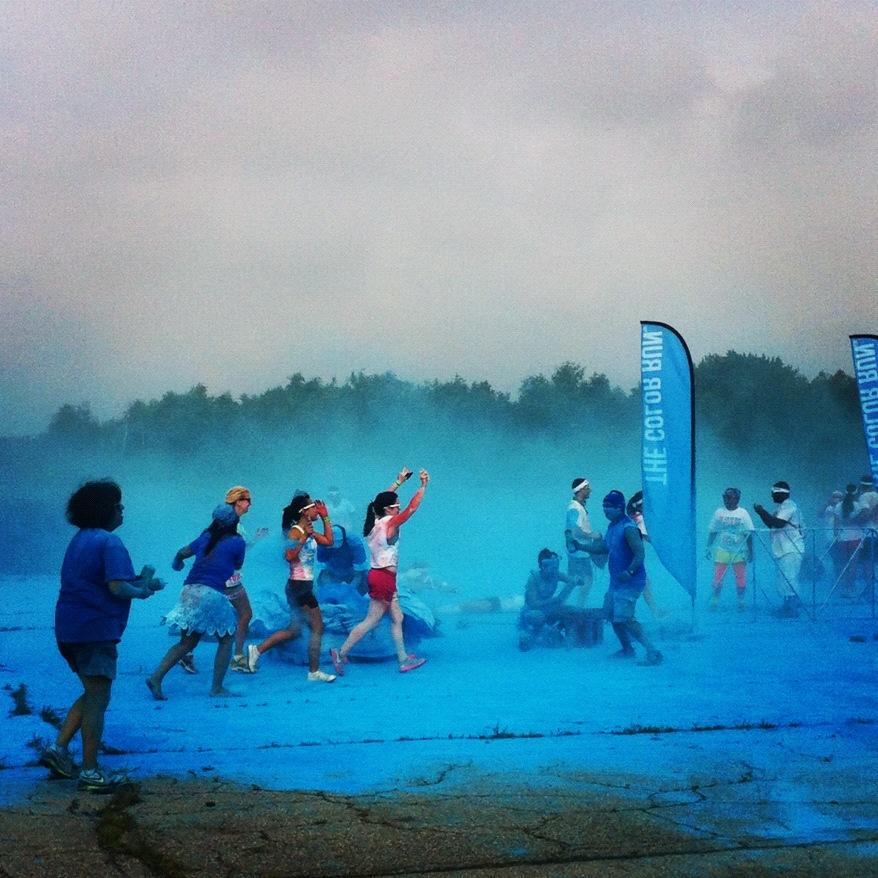 2012-NYC-Blue-Paint-Race