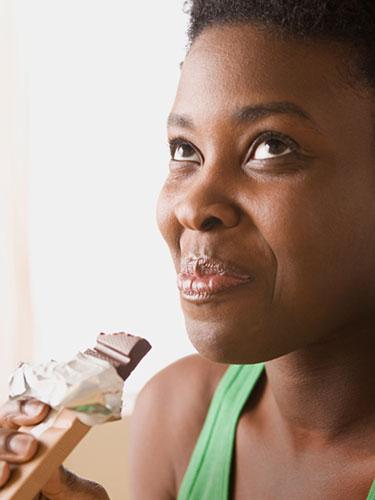 Black-Woman-Chocolate-Diet