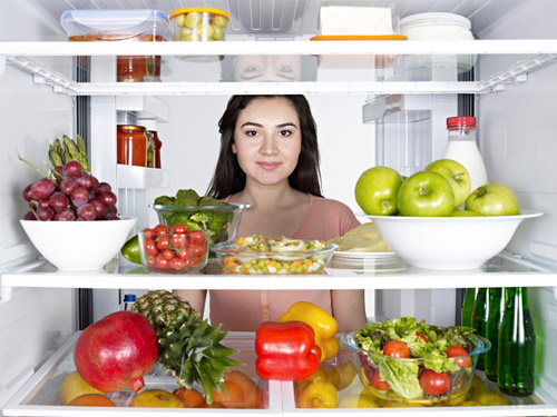 Woman-Diet-Fridge