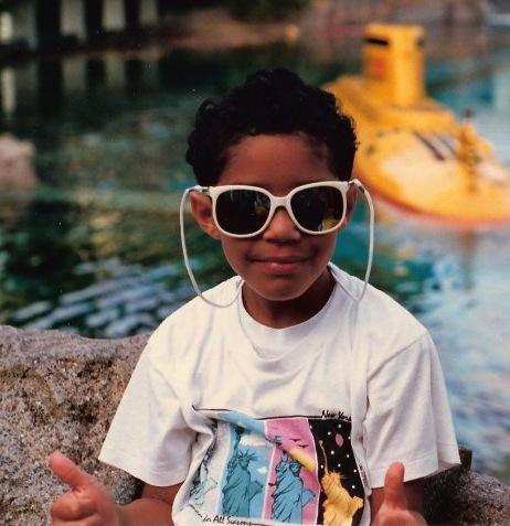 Dana-Suchow-Black-Kid-Sunglasses
