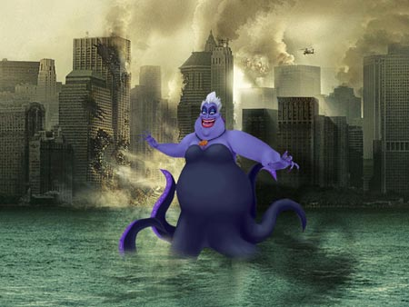 Octopus-NYC-Disney-Villain