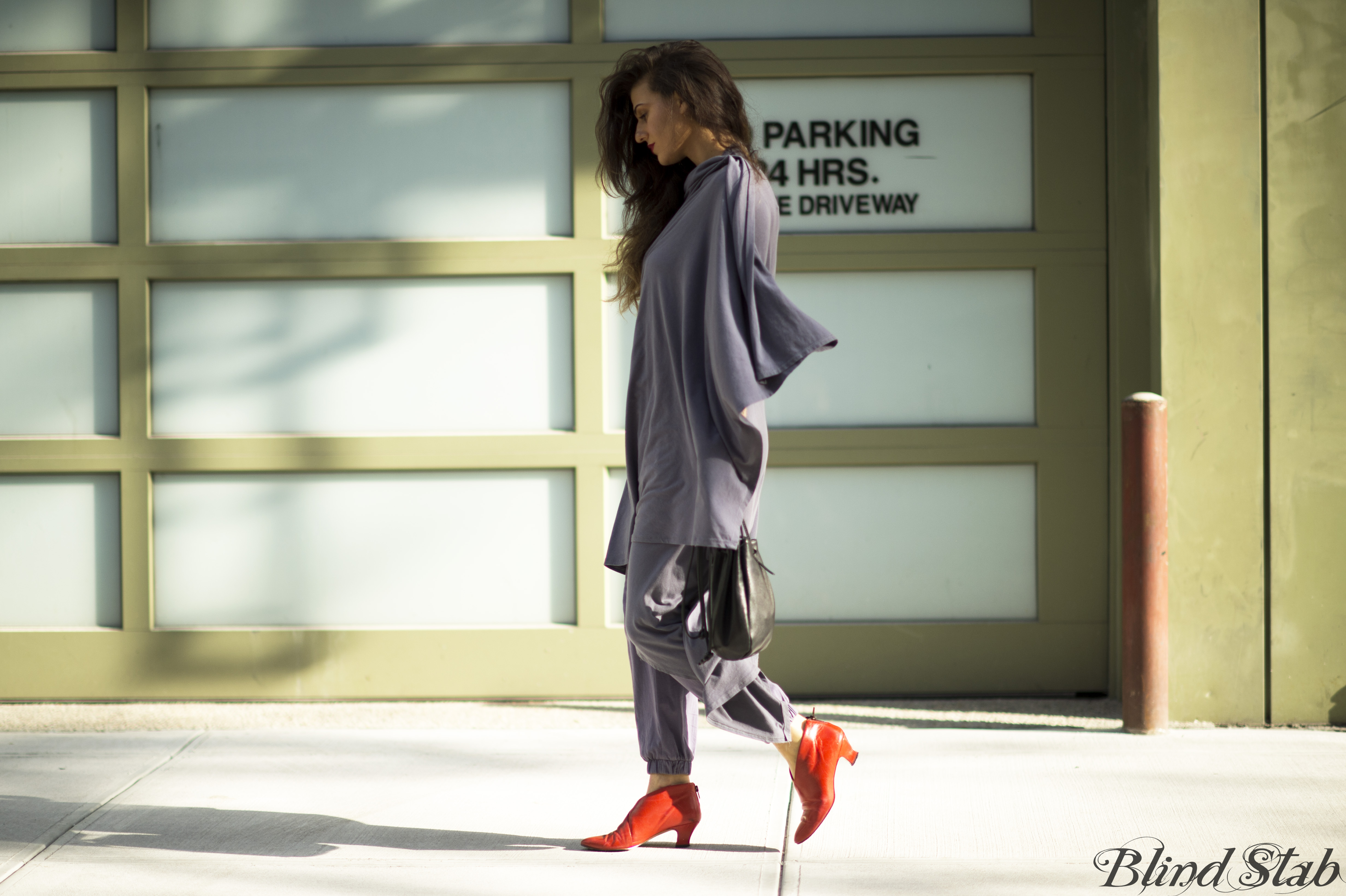 Red-Ankle-Boots-Long-Hair