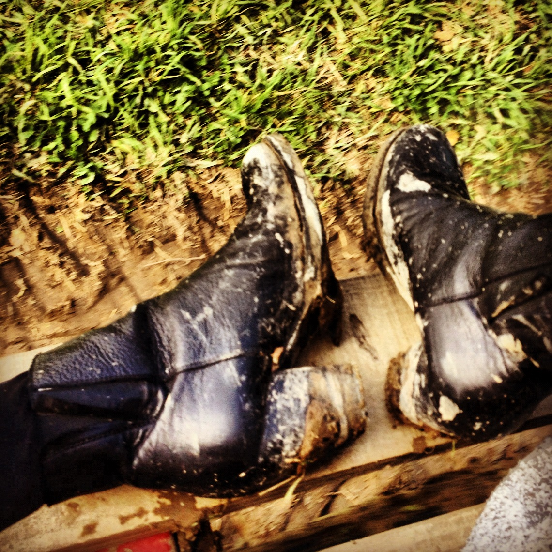 Dirty-Muddy-Boots-Booties