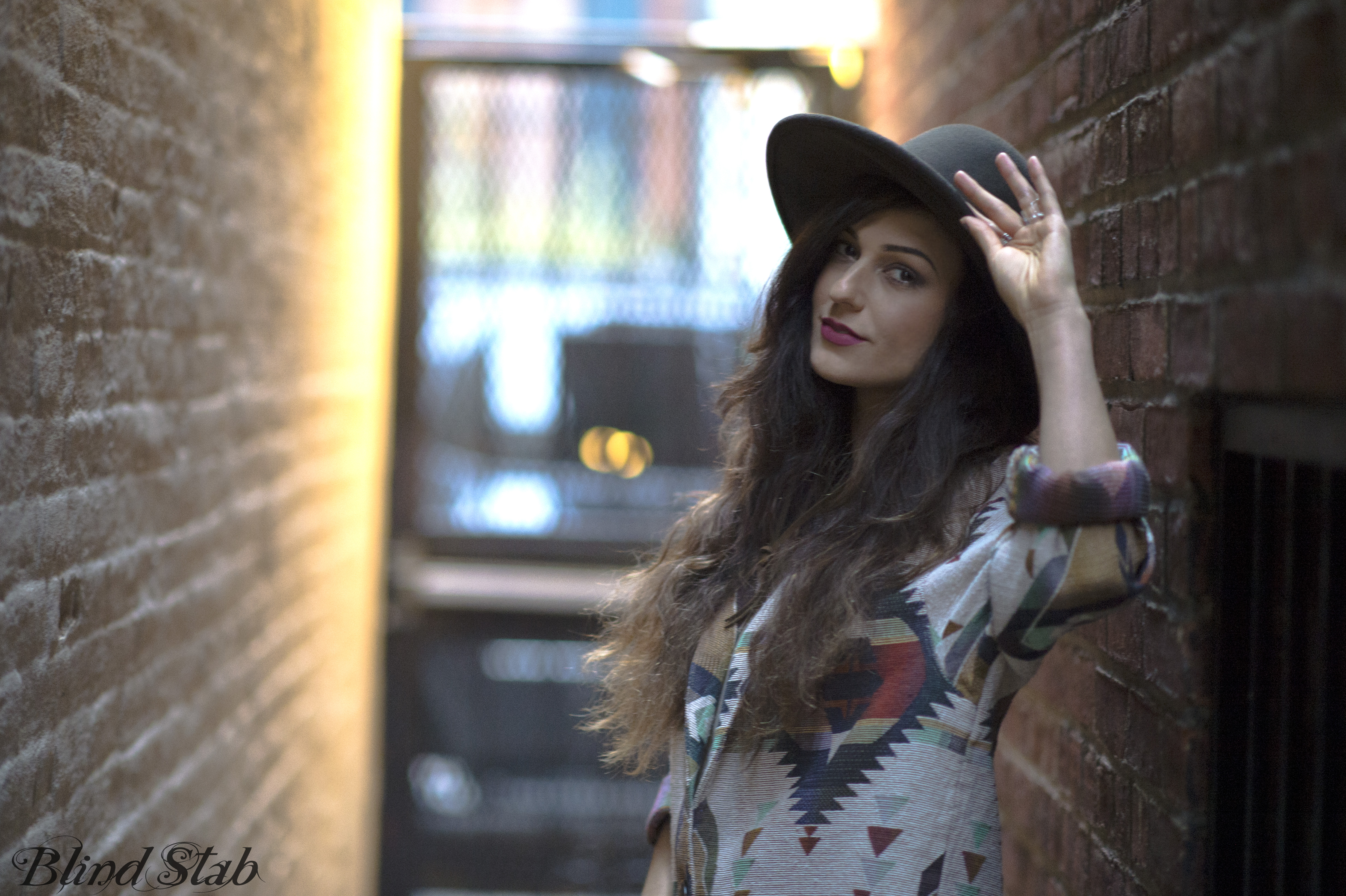 Wide-Brim-Hat-Girl-Alley