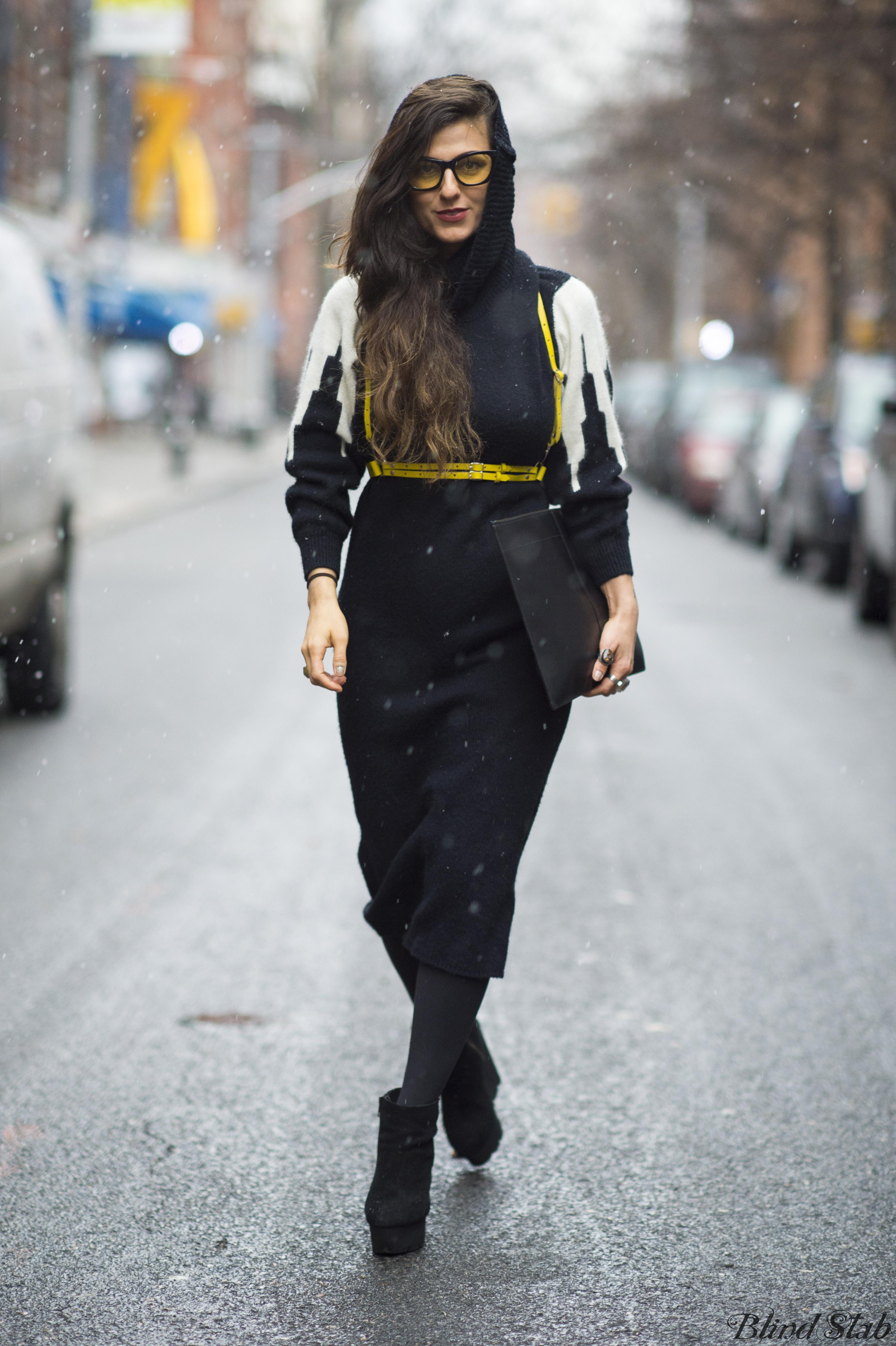 Zana-Bayne-Leather-Harness-Cheap-Monday