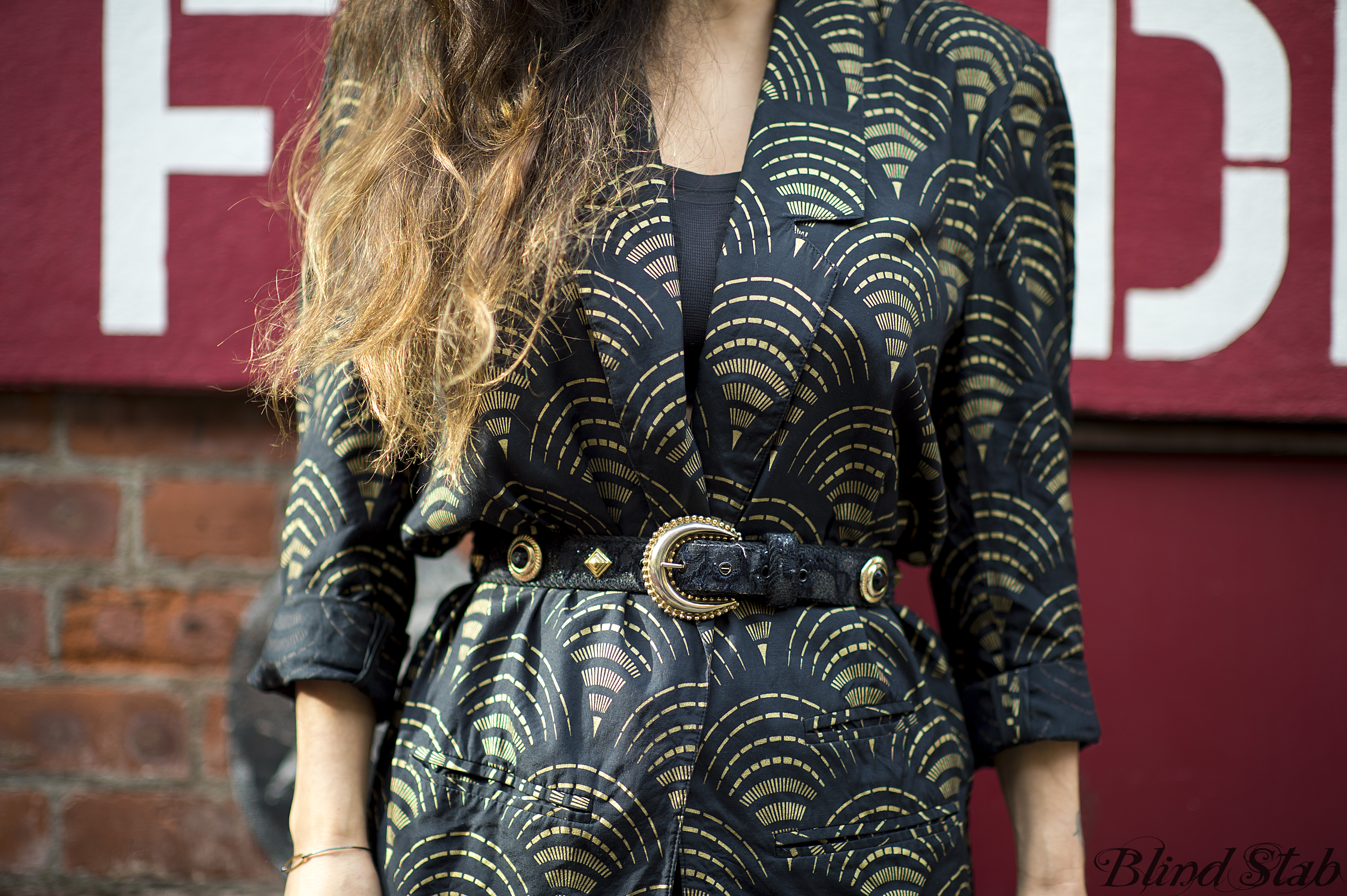 Long-Ombre-Hair-Vintage-Blazer
