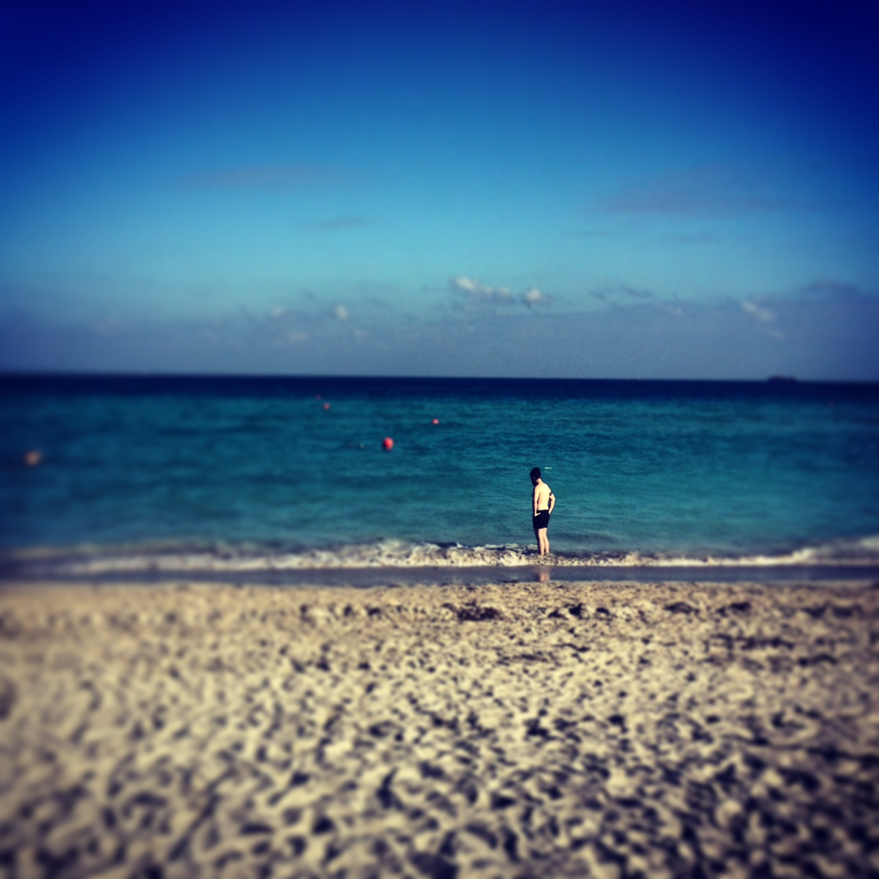 Blind Stab Adam Katz Sinding Miami Beach Ocean Instagram