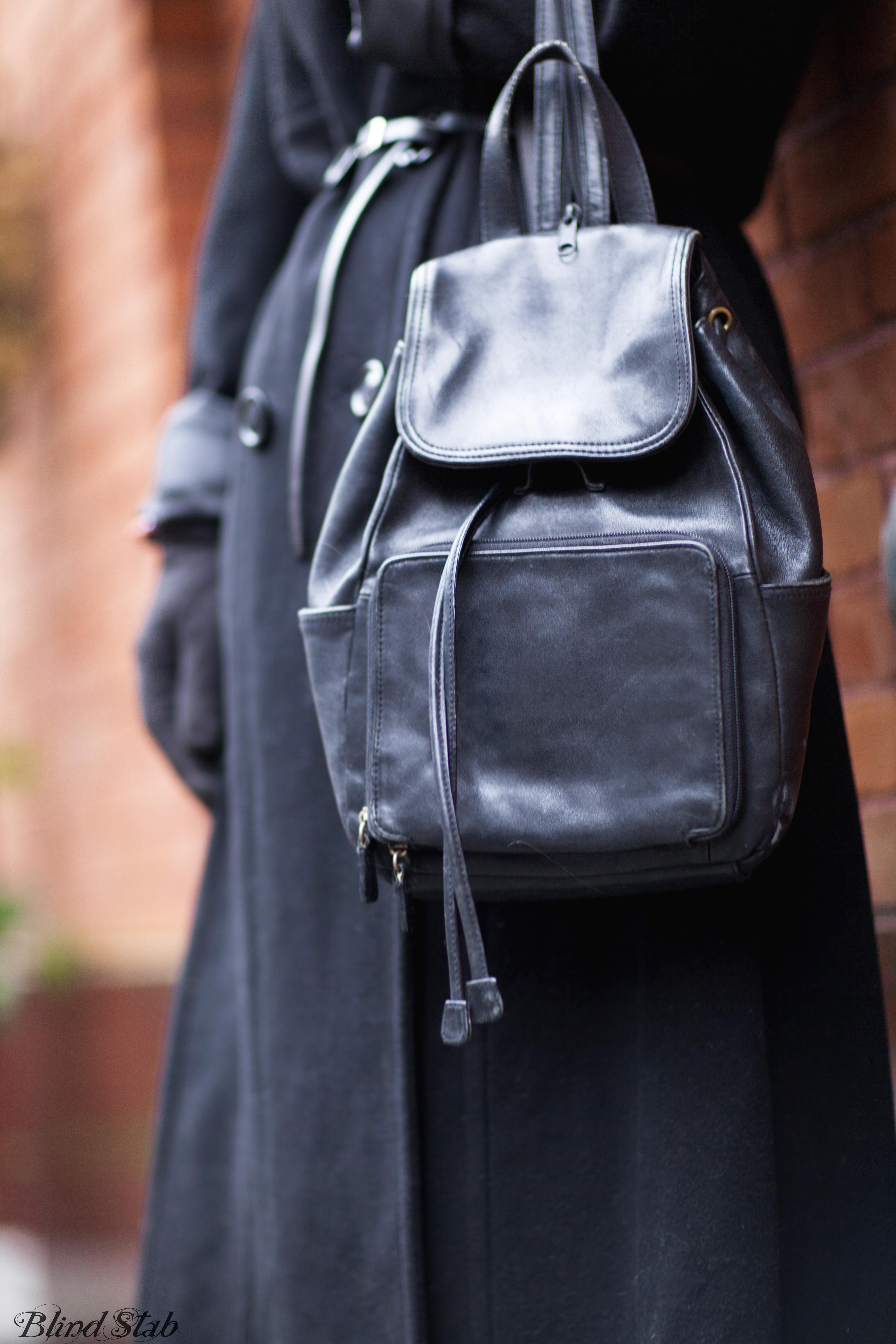 Black-Leather-Vintage-Back-Pack