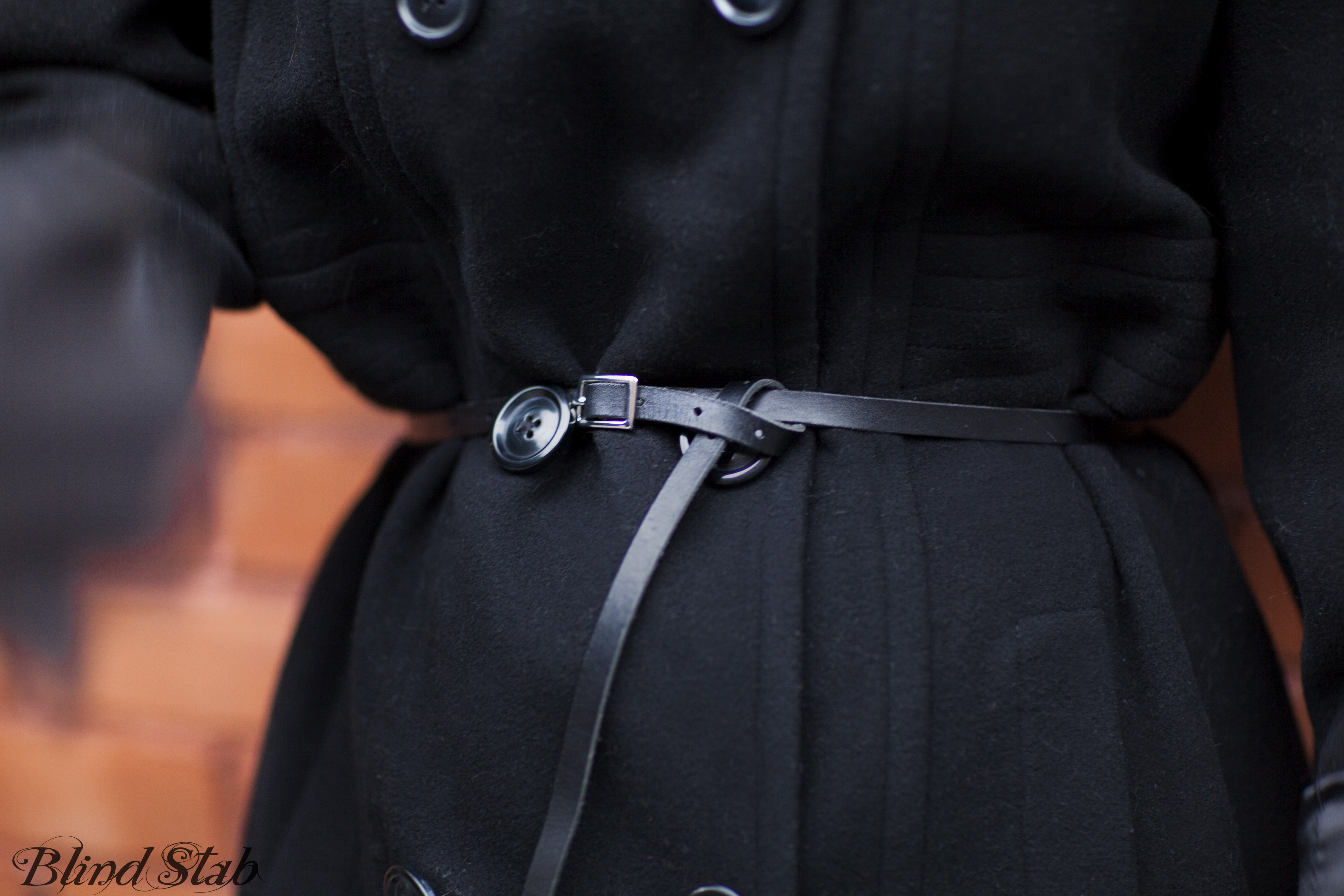 Maison-Martin-Margiela-H&M-Black-Skinny-Belt