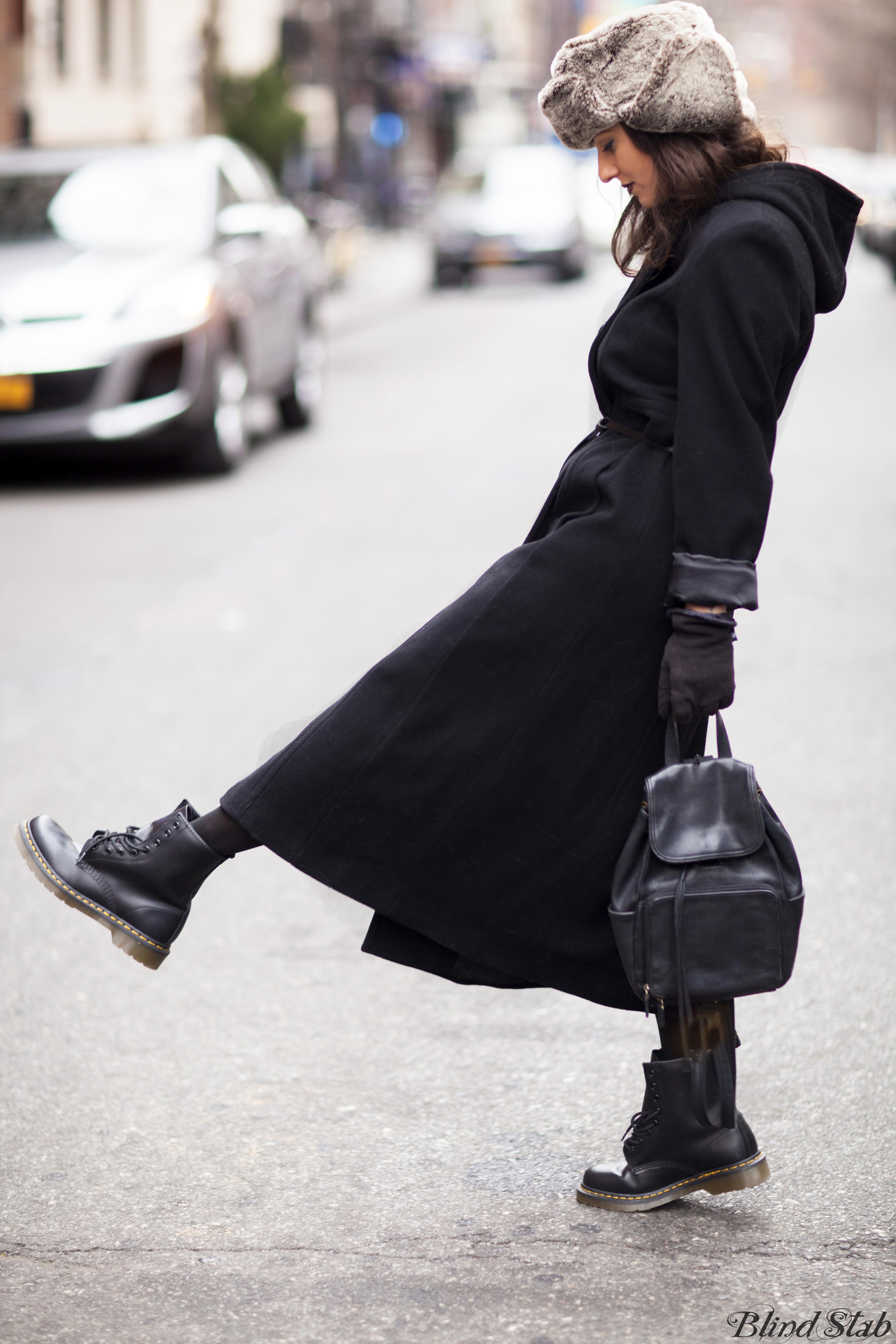 Long-Black-Coat-Dr-Martens-Fur-Hat