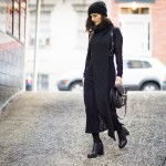 Zana-Bayne-Harness-Curvy-Woman-Black-Maxi-Dress