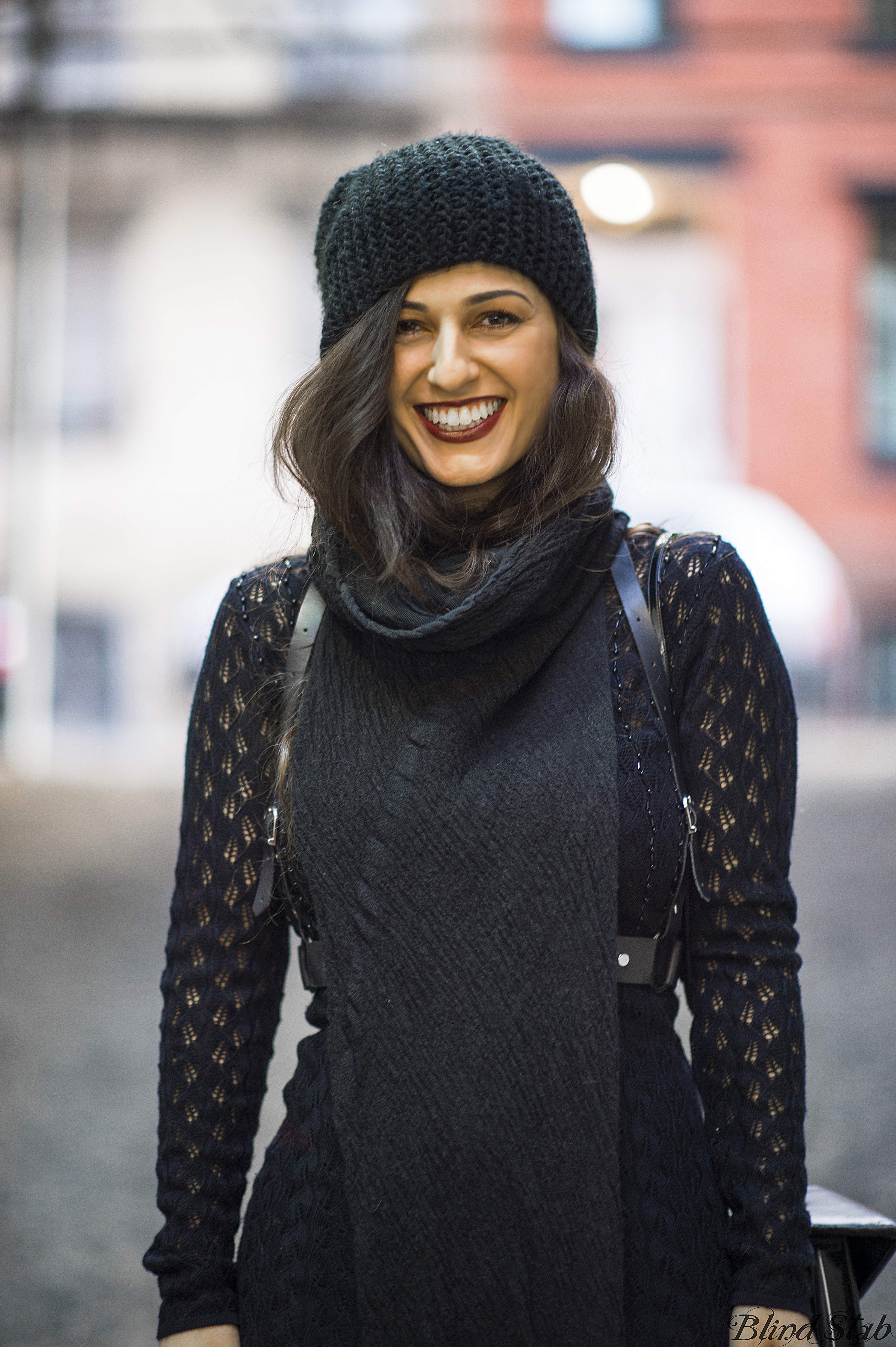Zana-Bayne-Harness-Curvy-Woman-Black-Maxi-Dress