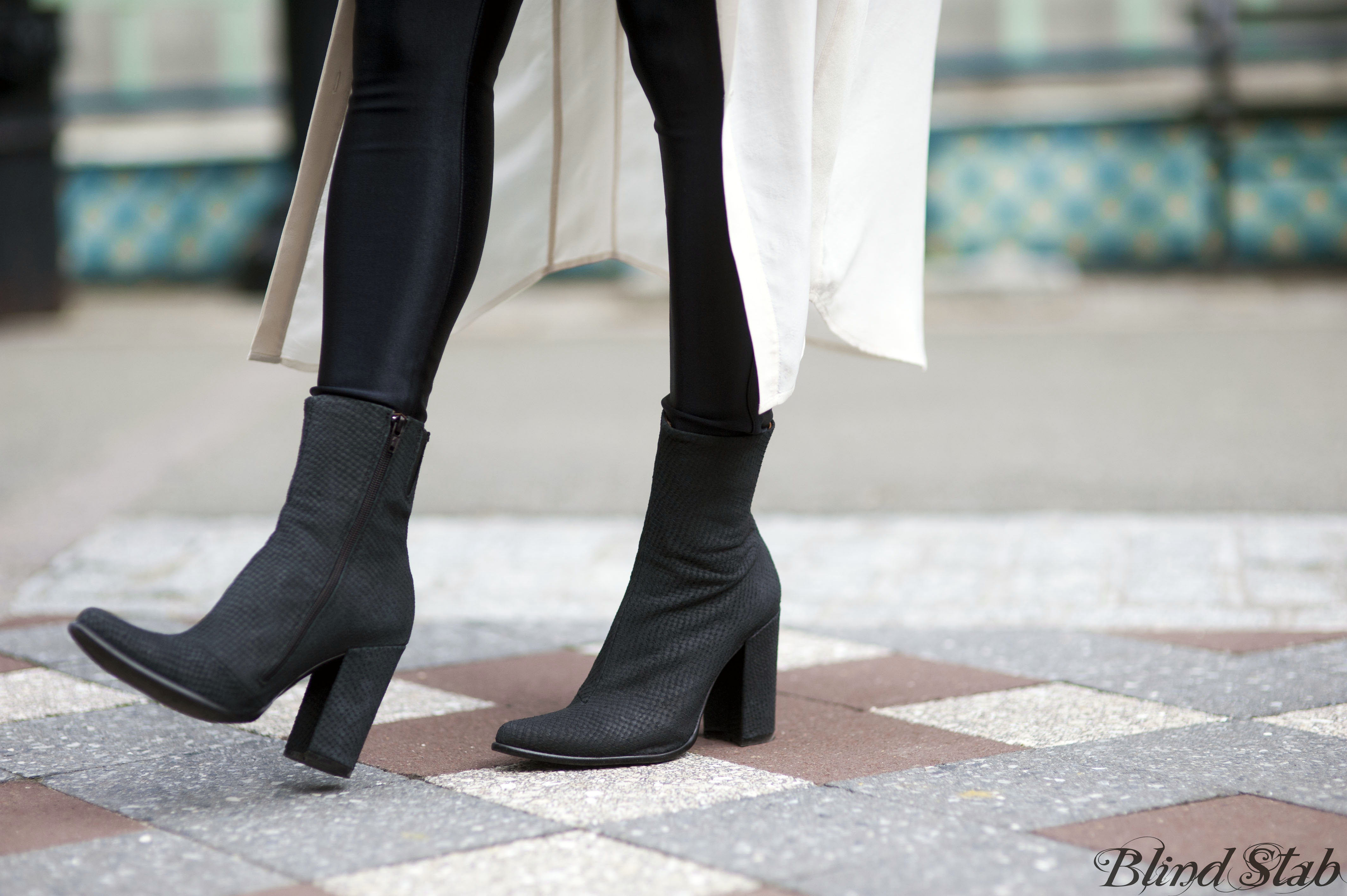 American-Apparel-Disco-Pants-Black-Ankle-Boots