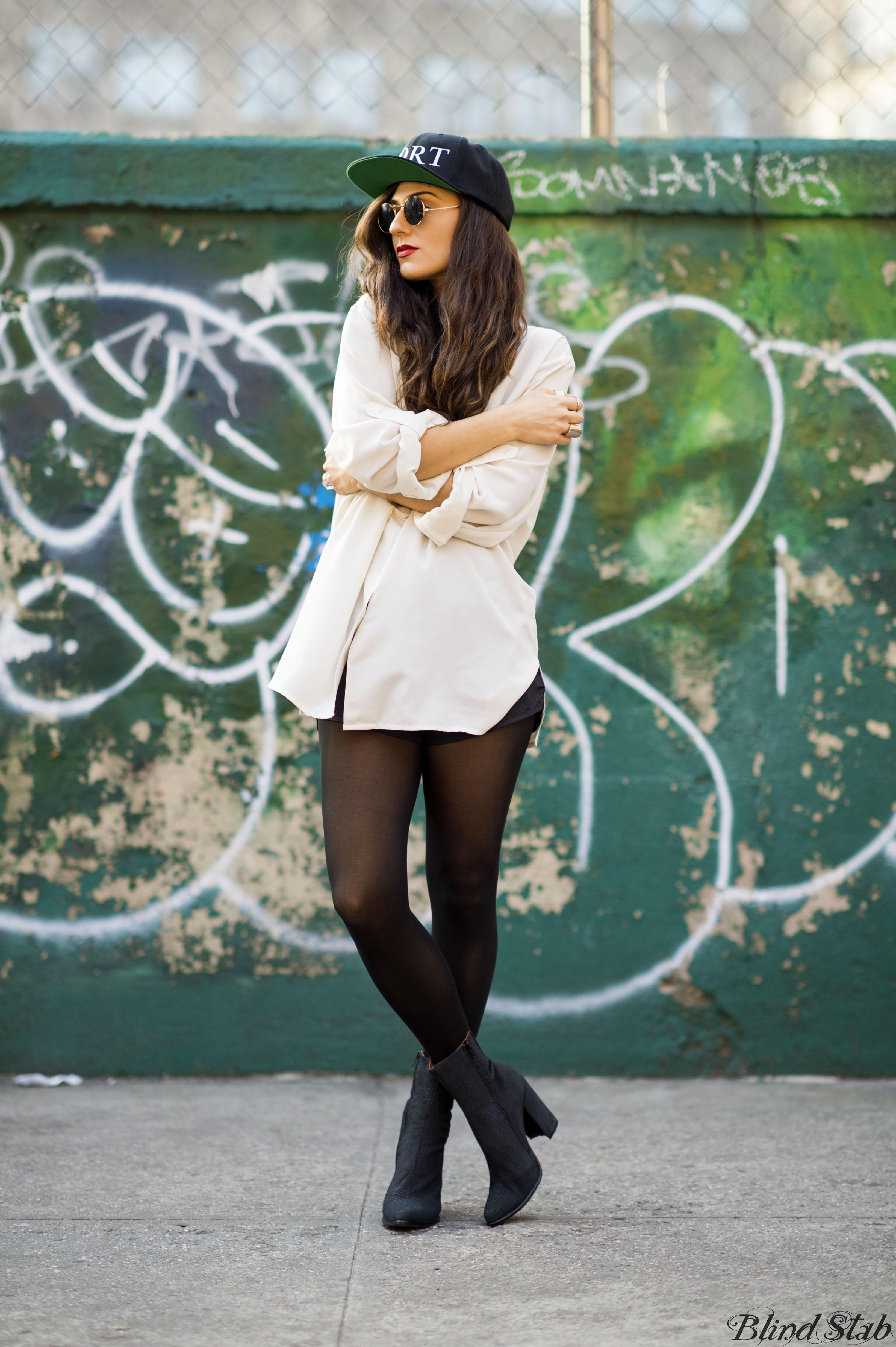 Girl-Legs-Mort-Paris-Baseball-Hat-Jeffrey-Campbell-Boots