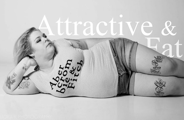 Abercrombie and Fitch Fat Beautiful Attractive Woman 6