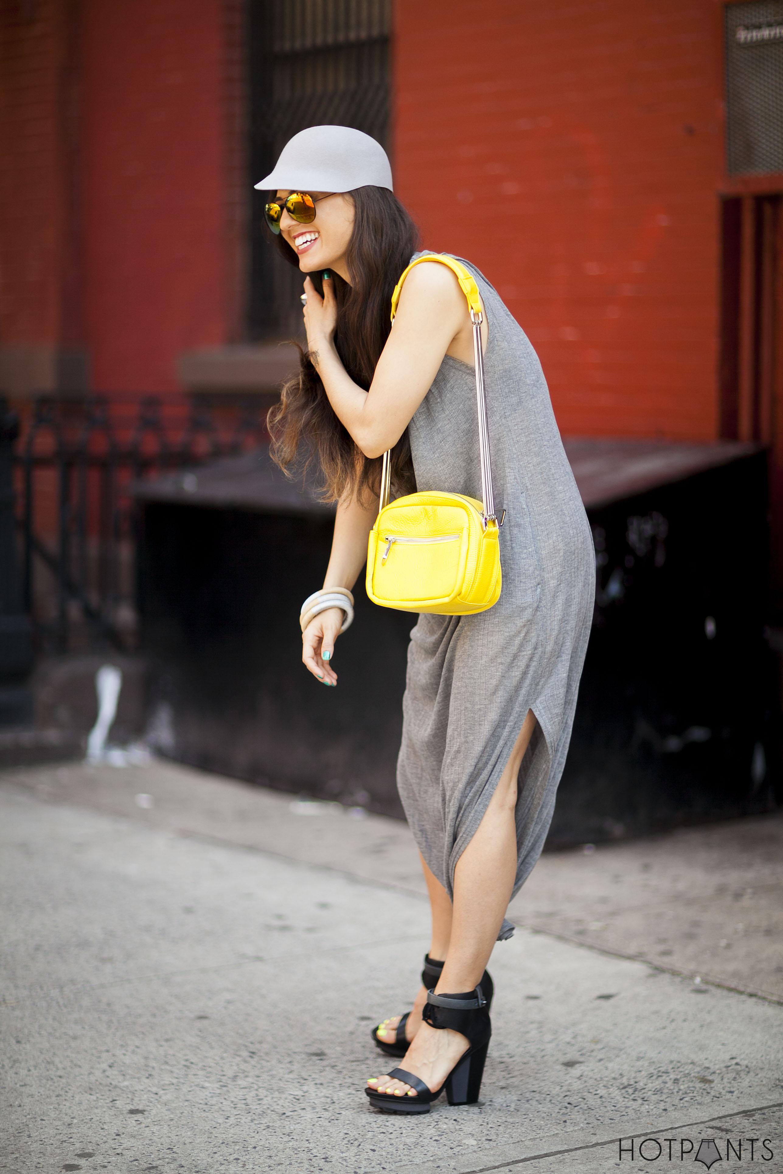 Maxi Alexander Wang Dress Mirror Reflective Aviator Sunglasses