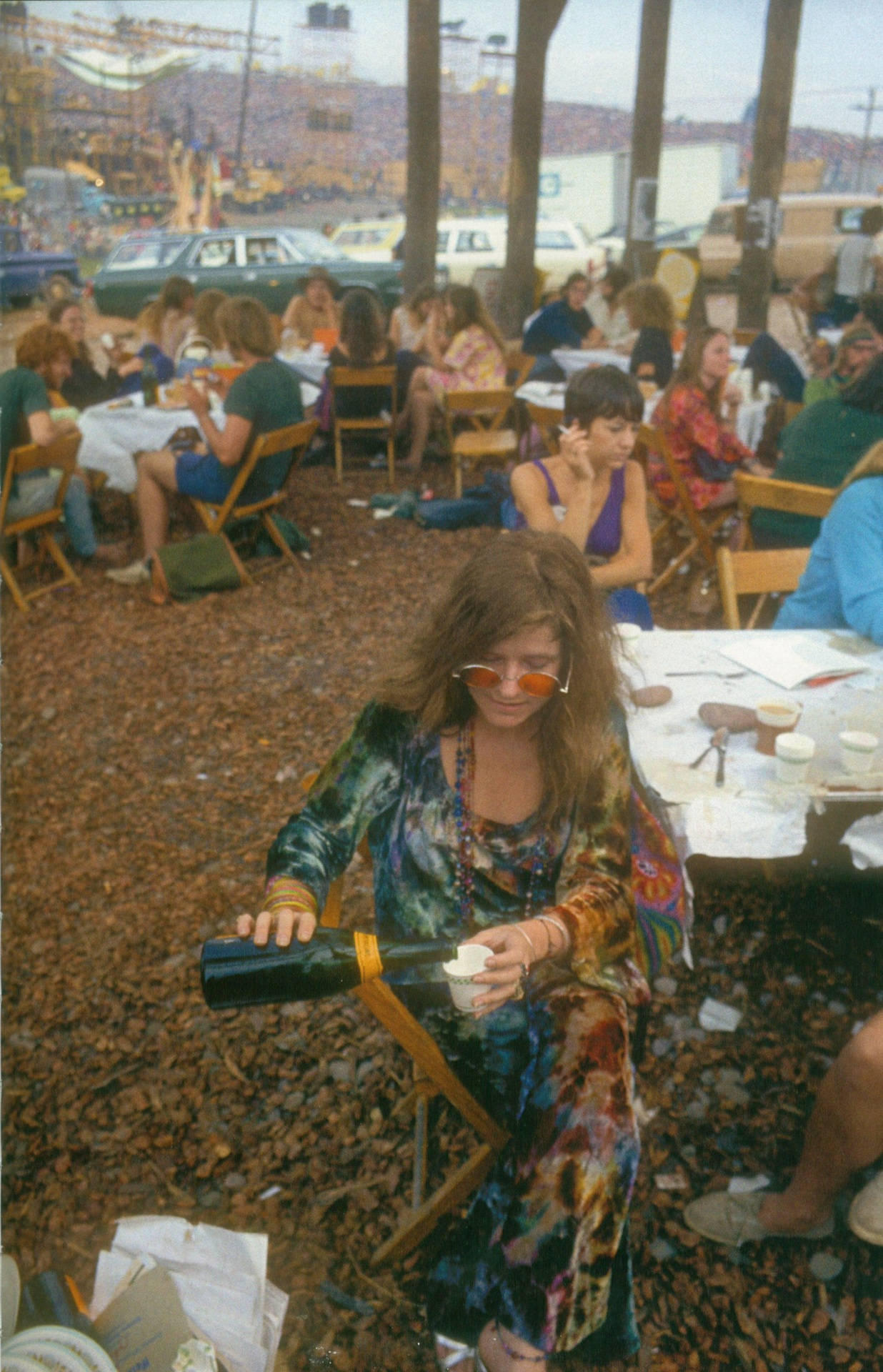 Do The Hotpants Janis Joplin Tie Dye Outfit 1