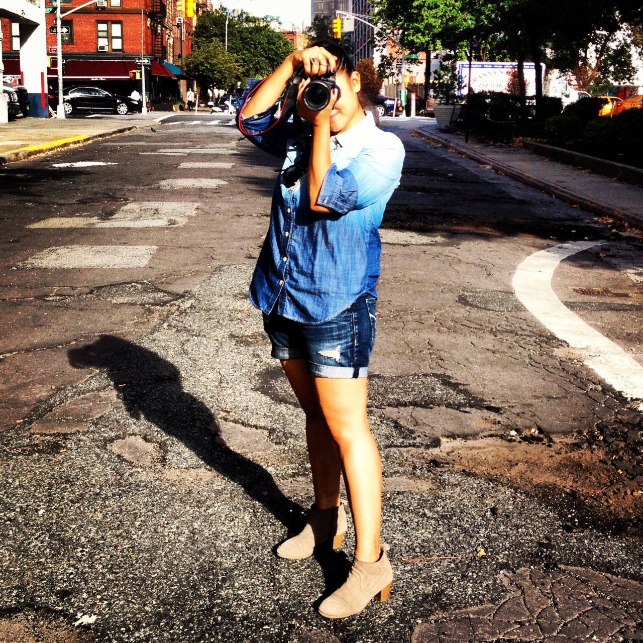 Do The Hotpants Gemma Lopez Streetstyle Photographer