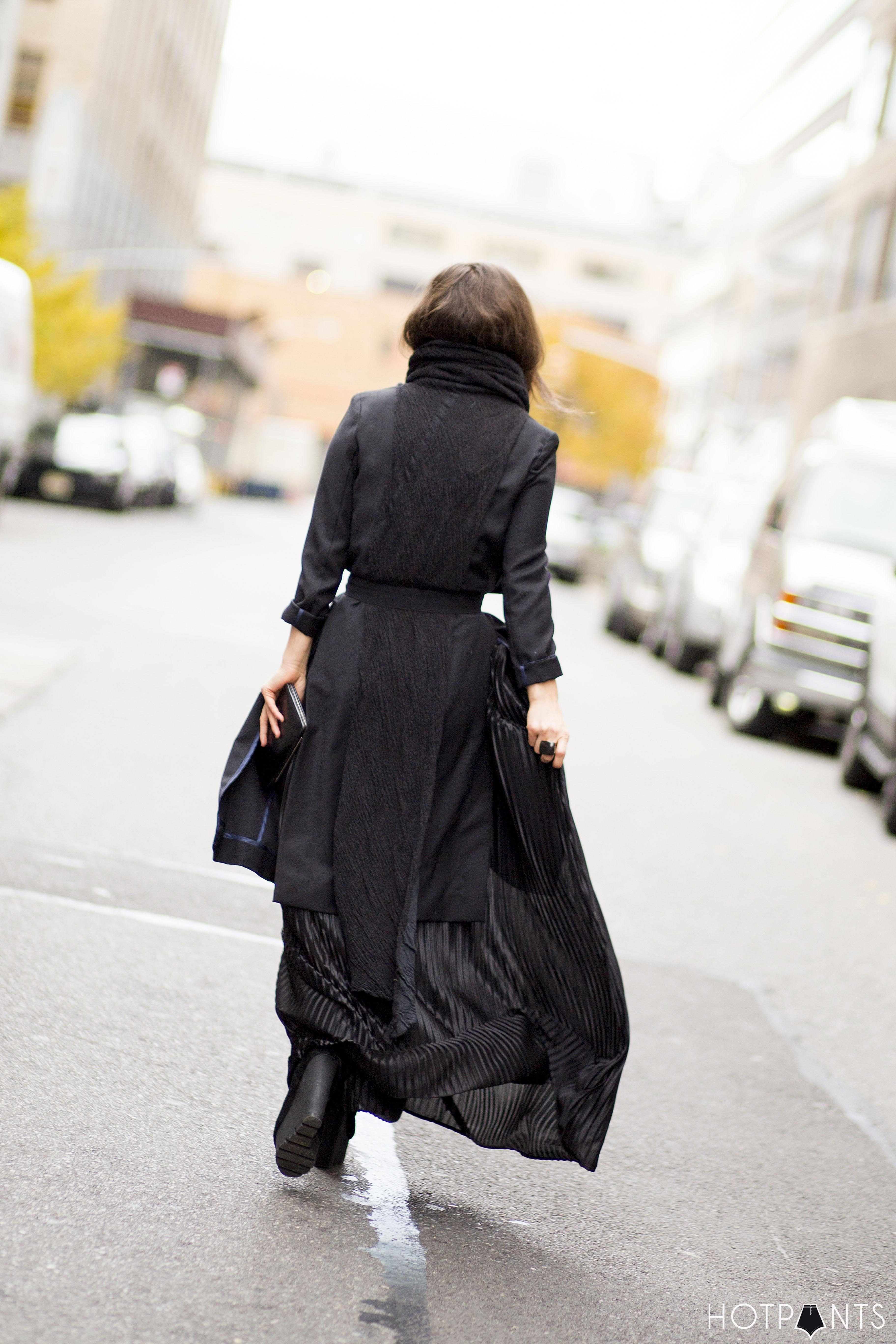 Long Hair Blogger New York City Winter Fashion