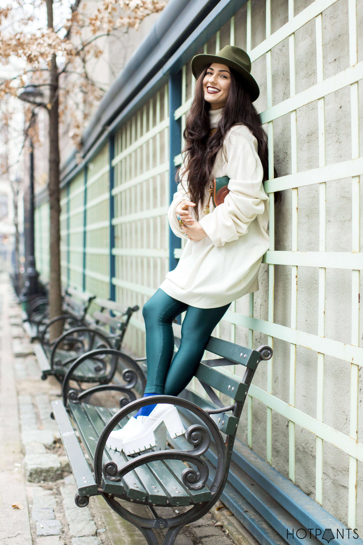 Turtleneck Dress White Platform Stella McCartney Heels