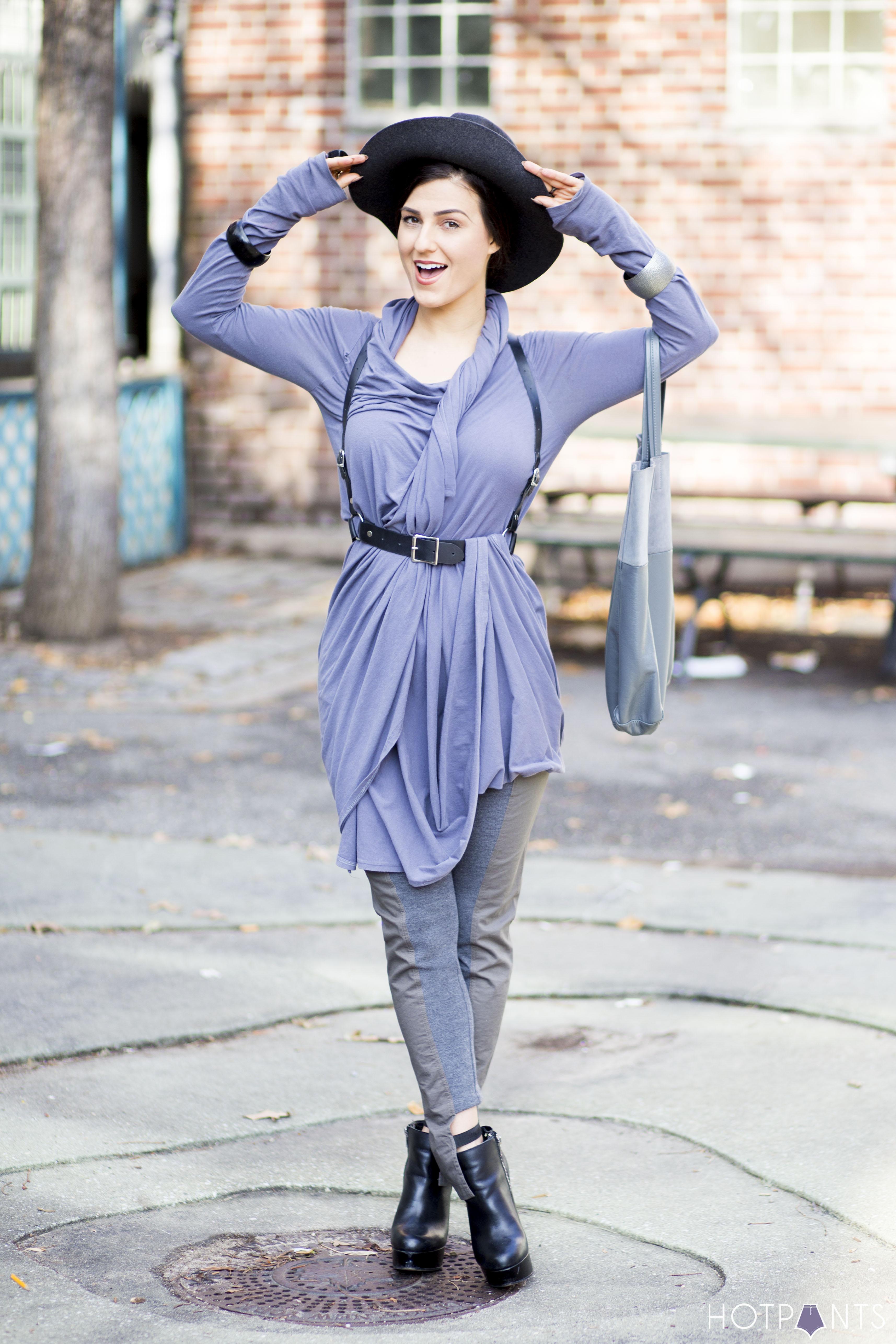 Regular Healthy Woman Body Wrap Dress