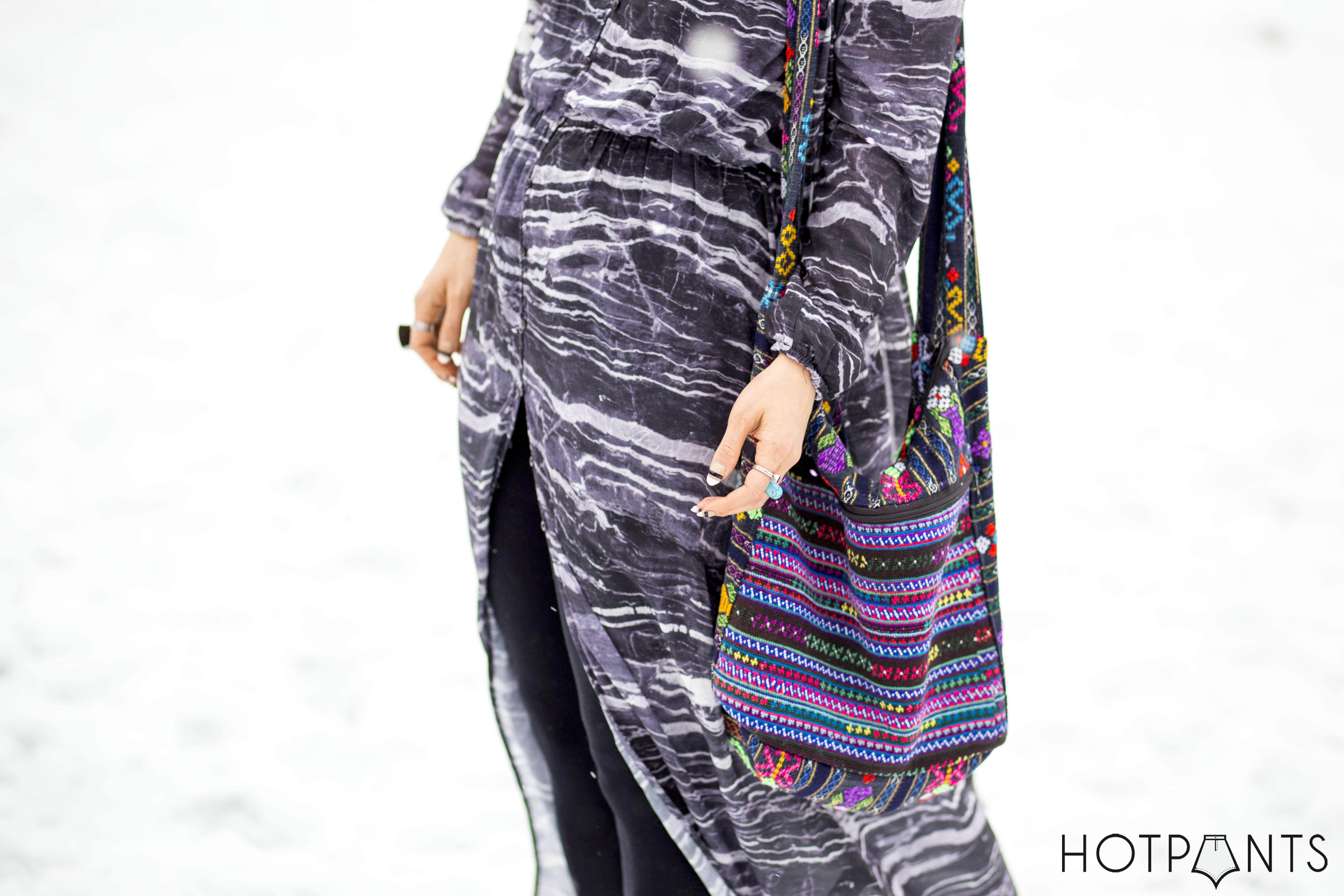 Long Hair Blogger Updo Bun Tie Dye Maxi Sheer Dress