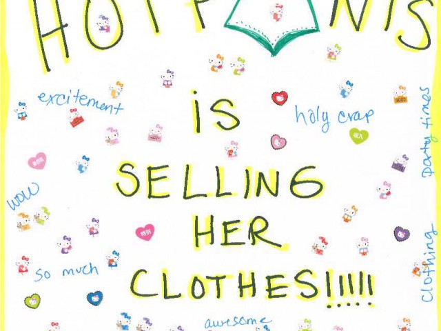 HEY NEW YORK – I'M SELLING MY CLOTHES THIS SUNDAY