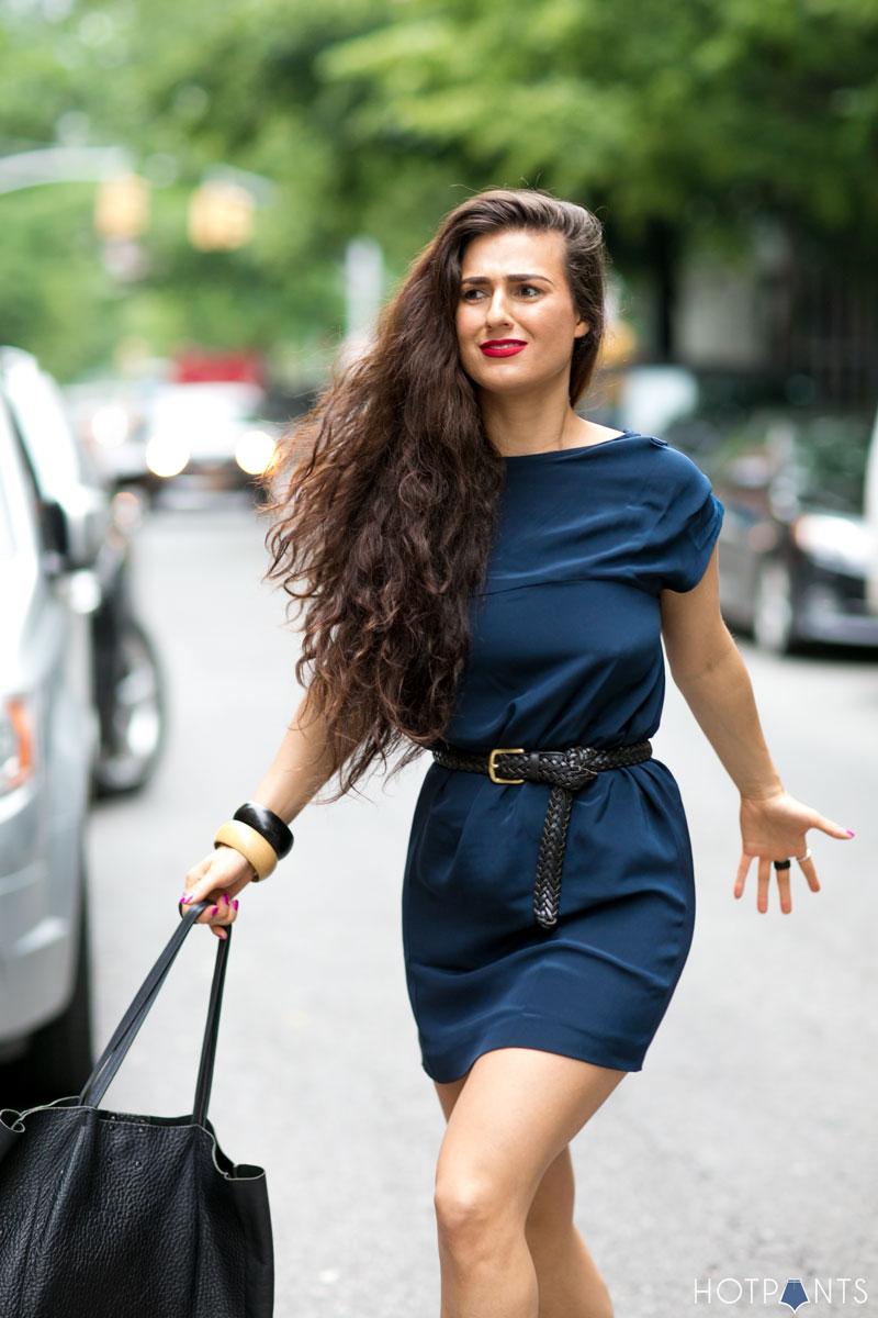 Jessica Choay Clothing Curvy Healthy Woman Long Hair Street Style