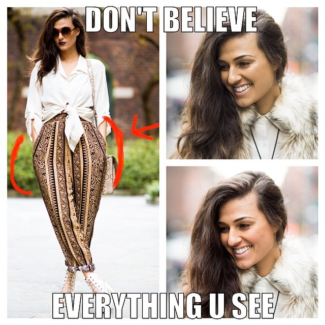 Do The Hotpants Dana Suchow Fashion Blogger Photoshop