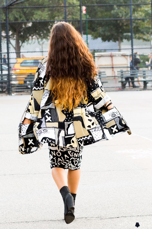 Oversize Tribal Coat Jacket Pencil Bodycon Skirt