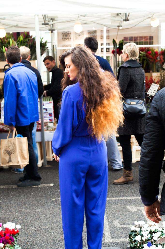 East London Shoreditch Canals Fall Winter British Flower Market
