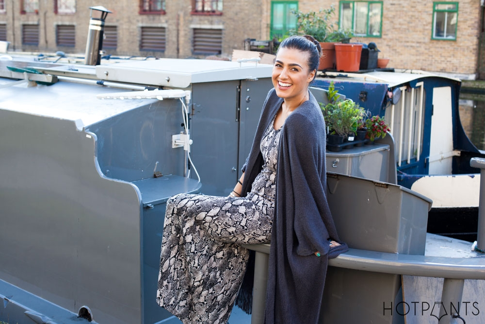 East London Shoreditch Canals Fall Winter British Houseboat