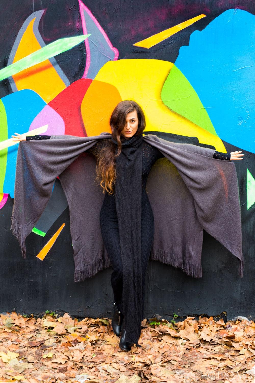 Dru Dodd Photography Curvy Healthy Woman Drapey Clothing London Streetstyle