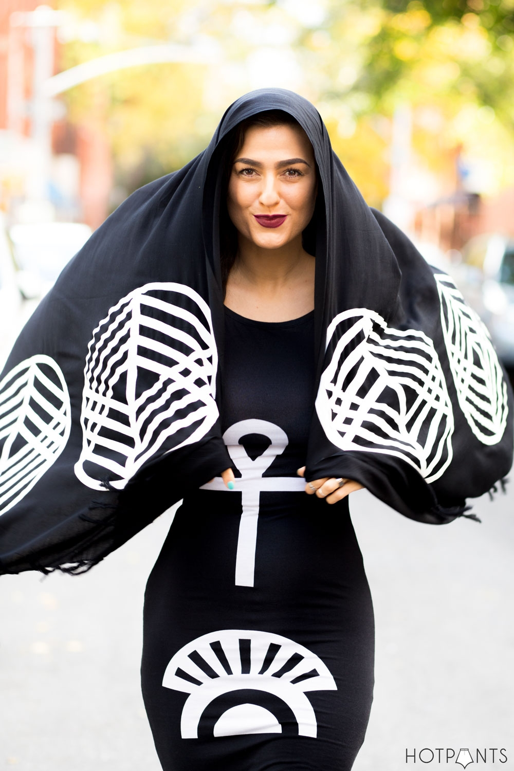 Witch Wiccan Streetstyle New York City Dark Egyptian Fashion