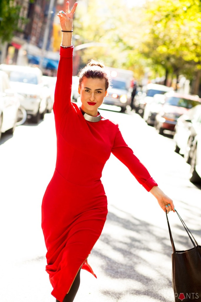Do The Hotpants Dana Suchow Red Dress Bodycon Curvy Girl Woman Hips Tight Dress IMG_0412