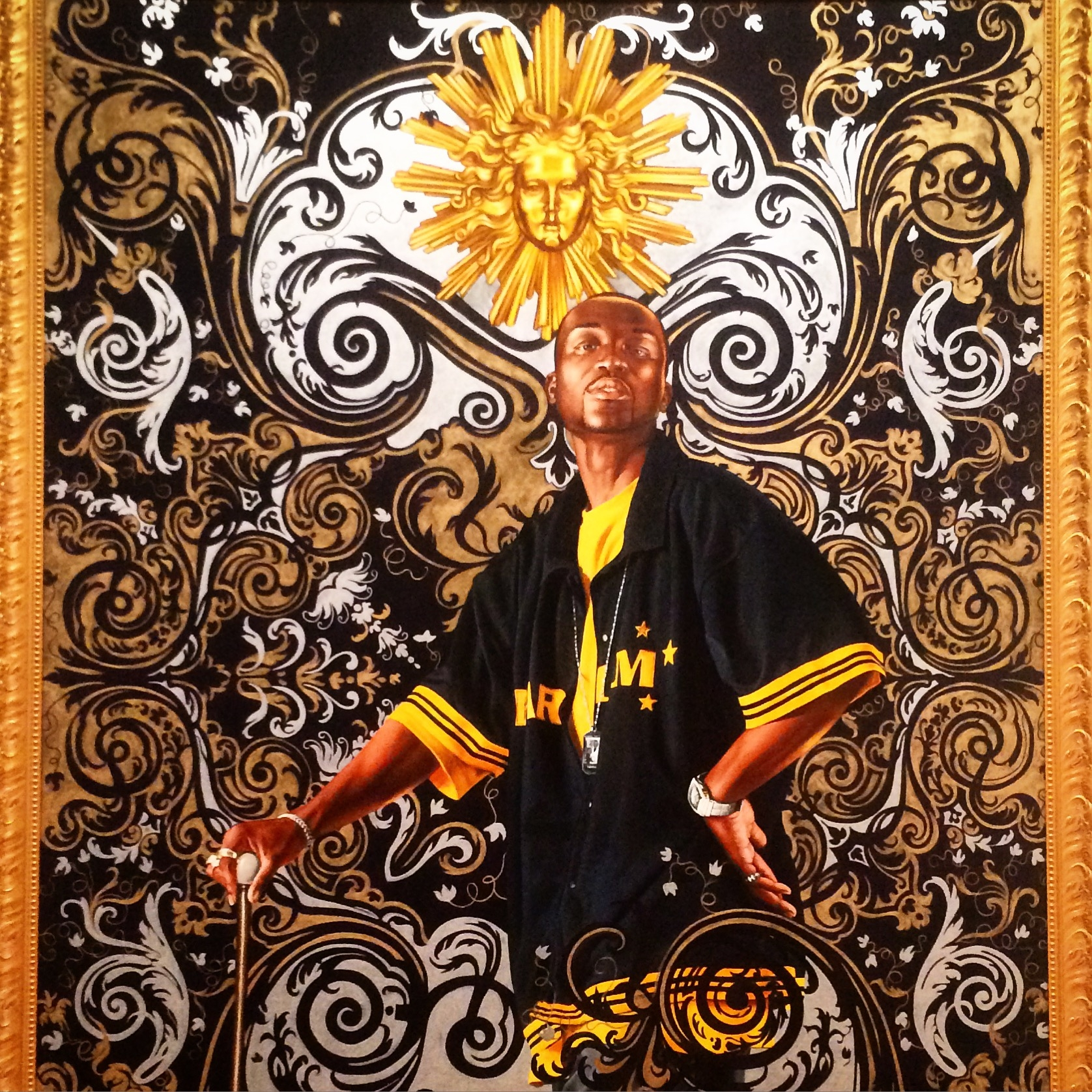 Kehinde Wiley African American Art Amazing Paintings Black Excellence Brooklyn Museum Social Commentary Racism
