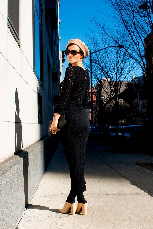 Zana Bayne Leather Harness Round Sunglasses Fashion
