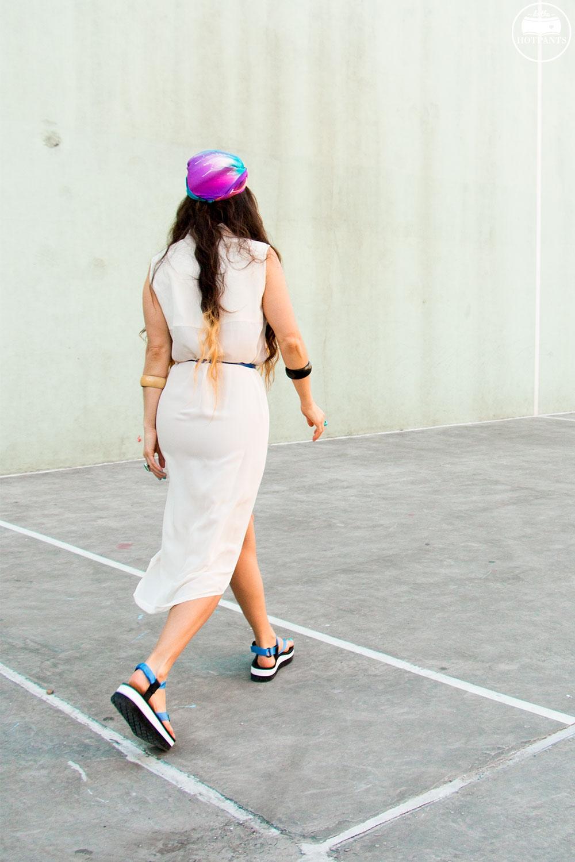 Teva Flatform Platform Sandals Blue Thong Sandal Wedges Cute Colorful White Maxi Dress