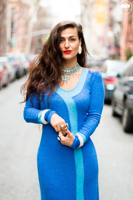 Do The Hotpants Dana Suchow 60s Psychadelic Maxi Dress Blue Mad Med Style Mod Fashion IMG_6703