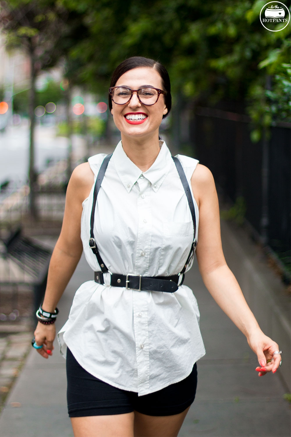 Clear Glasses Fashion Streetstyle