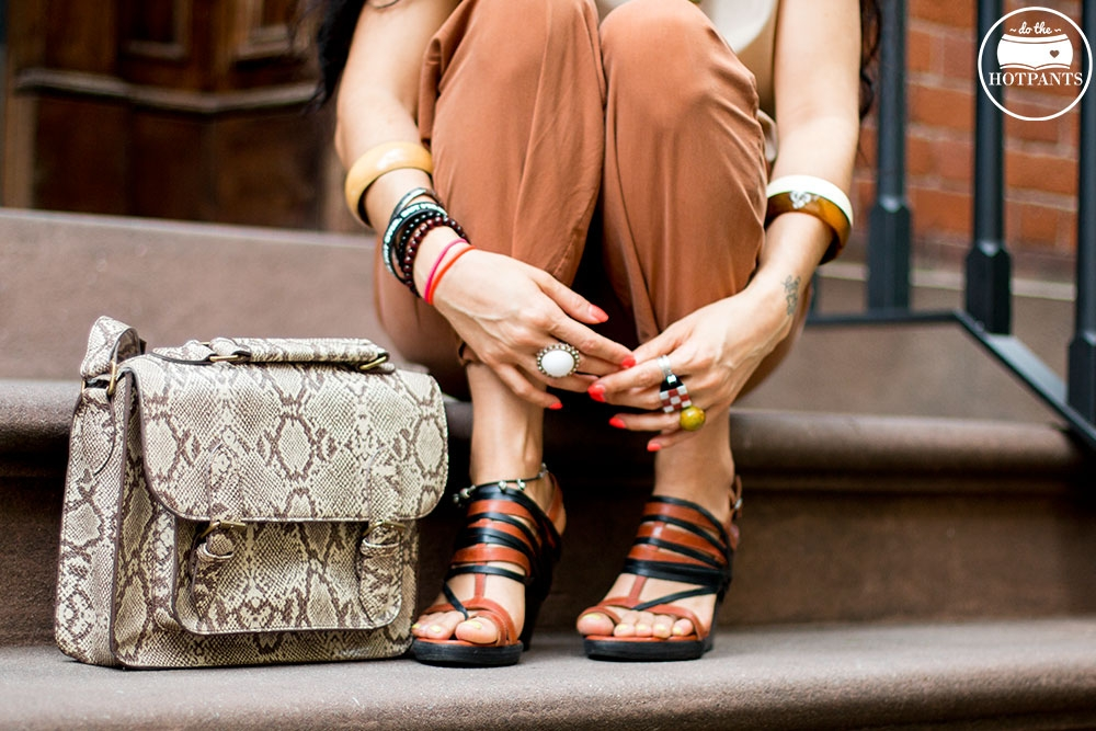 Do The Hotpants Dana Suchow Dharma Sunglasses Summer New York City Outfit Streetstyle Neutral Nude Fashion IMG_9892