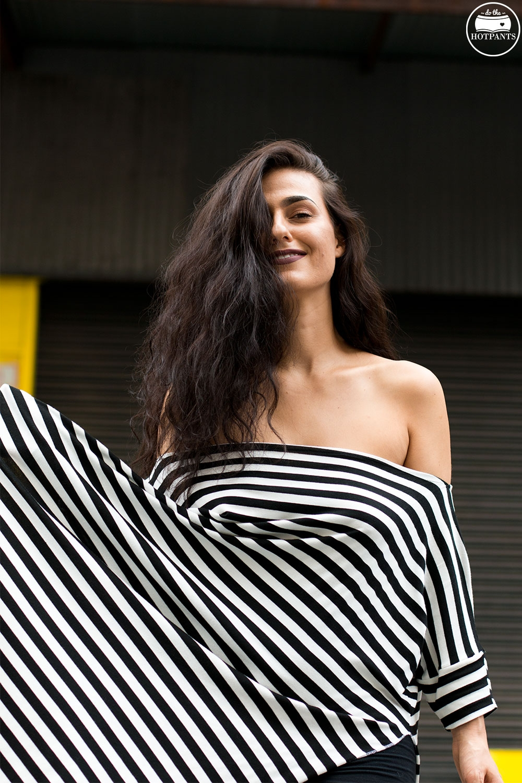 Do The Hotpants Dana Suchow Striped Maxi Dress Babooshka Boutique Curvy Woman Off Shoulder Dress IMG_0191