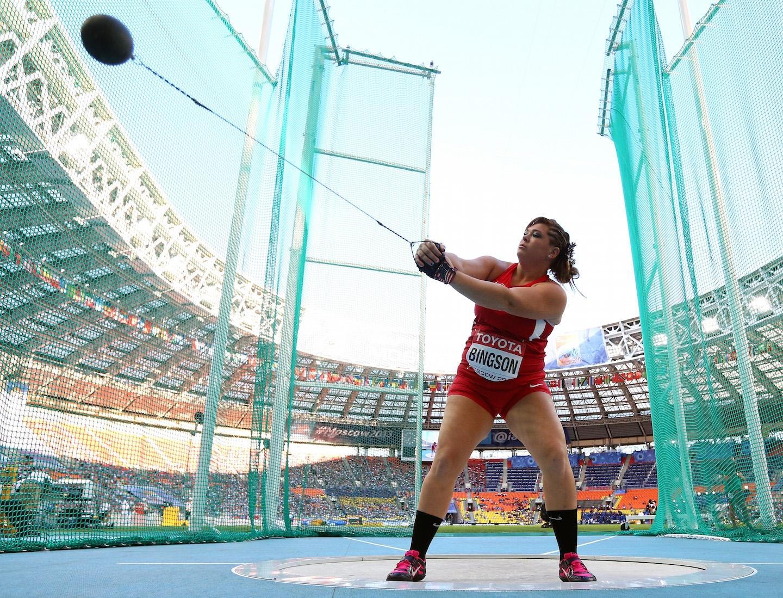 Olympic Hammer Thrower Amanda Bingson