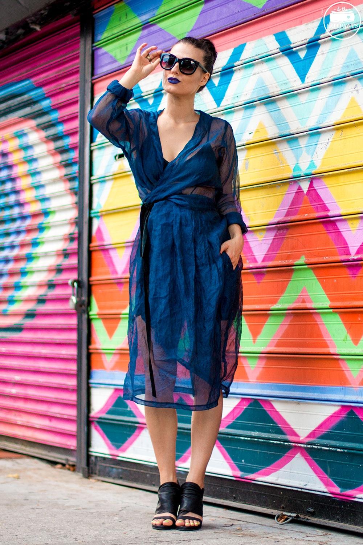 Do The Hotpants Dana Suchow Blue Lipstick Makeup Sheer Dress Fashion IMG_2676