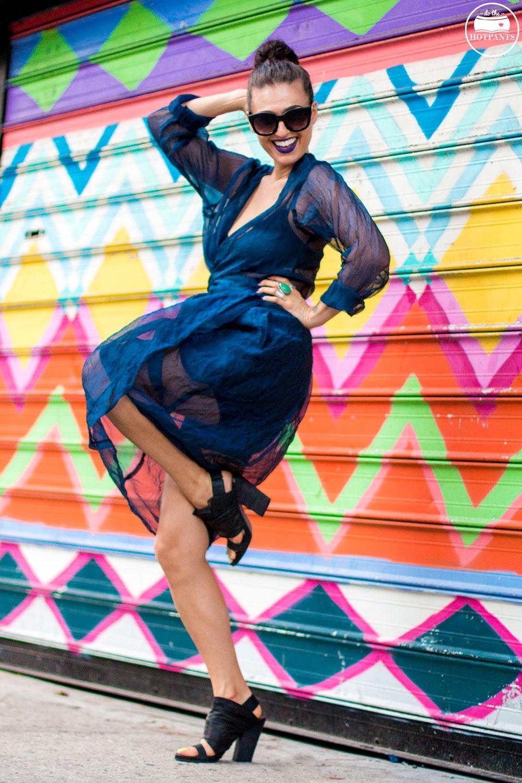 Do The Hotpants Dana Suchow Blue Lipstick Makeup Sheer Dress Fashion IMG_2710