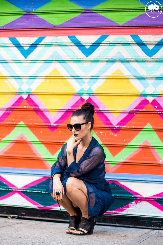 Do The Hotpants Dana Suchow Blue Lipstick Makeup Sheer Dress Fashion IMG_2762